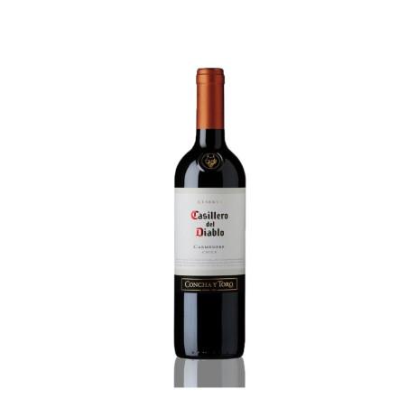 Casillero Del Diablo Carmenere 750 ml - Vino Tinto