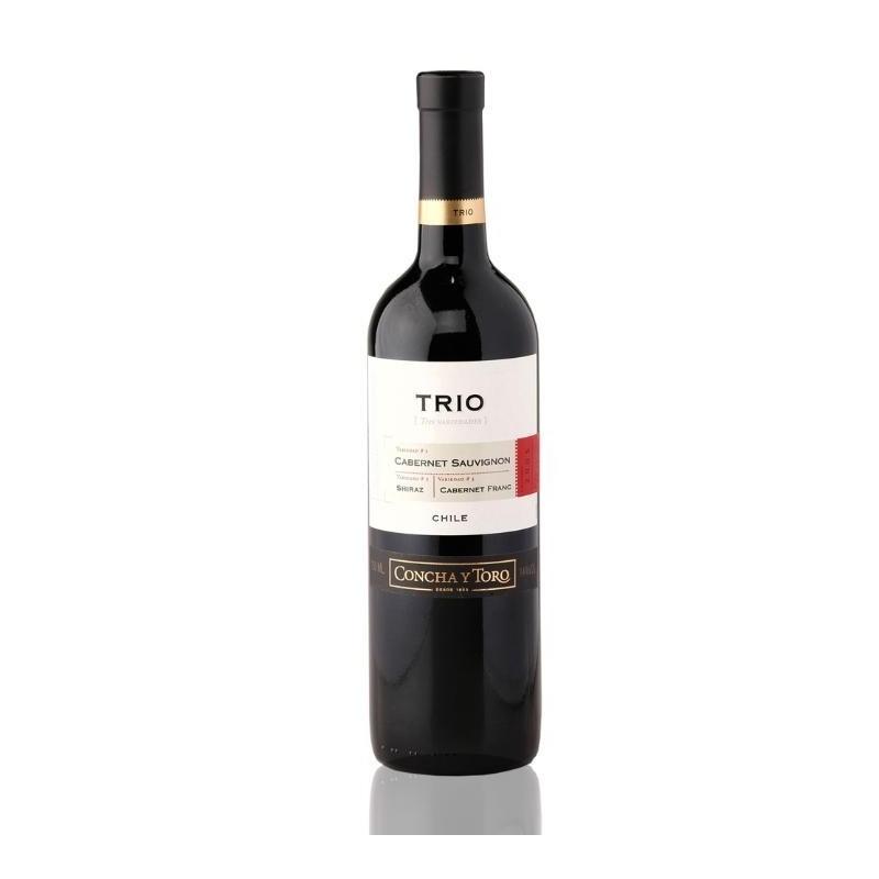 Trio Cab Sauvig Cab Franc Shiraz 750 ml - Vino Tinto