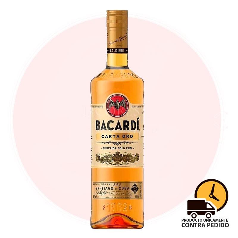 BACARDI CARTA ORO 750 ml