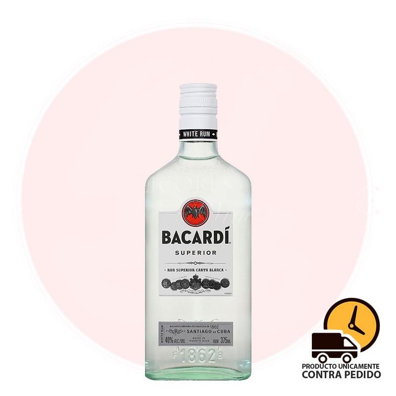 BACARDI CARTA BLANCA 375 ml