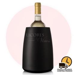 Cubitera de vino negra con...