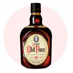 OLD PARR 12 AÑOS WHISKY 500 ML